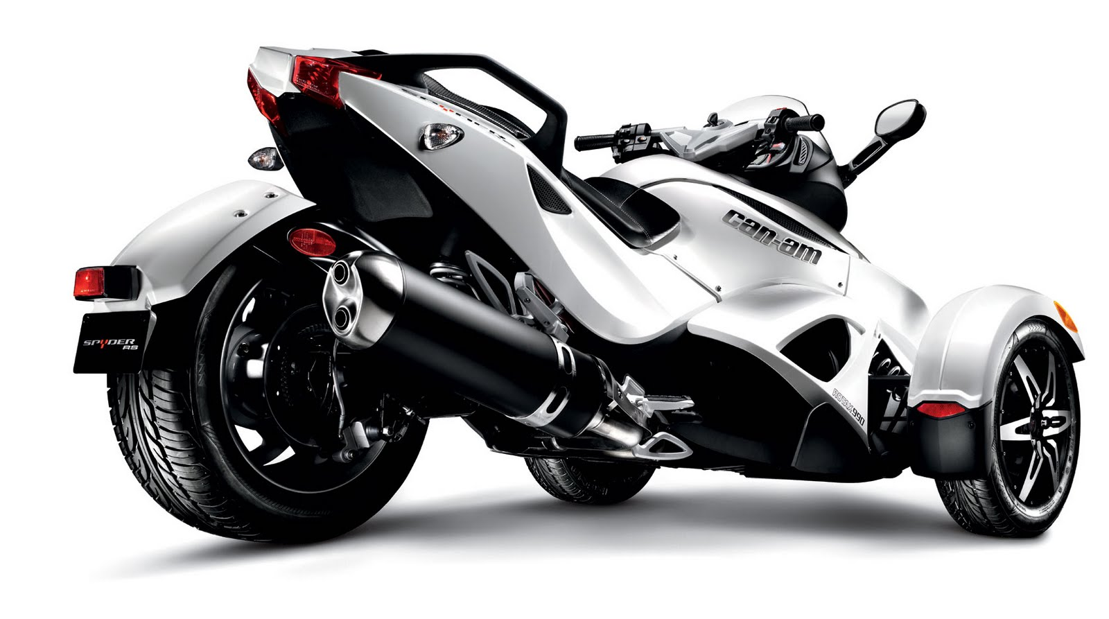 2008 Can-Am Spyder Roadster GS Silver and black