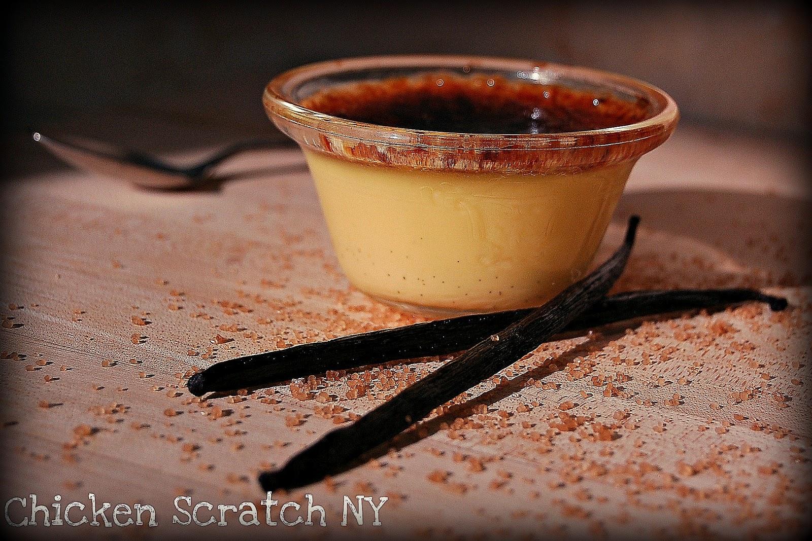 Vanilla Bean Creme Brulee | Chicken Scratch NY