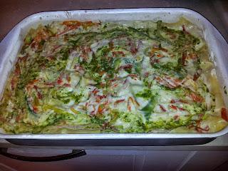 lasagne di verdure e pesto di benedetta parodi