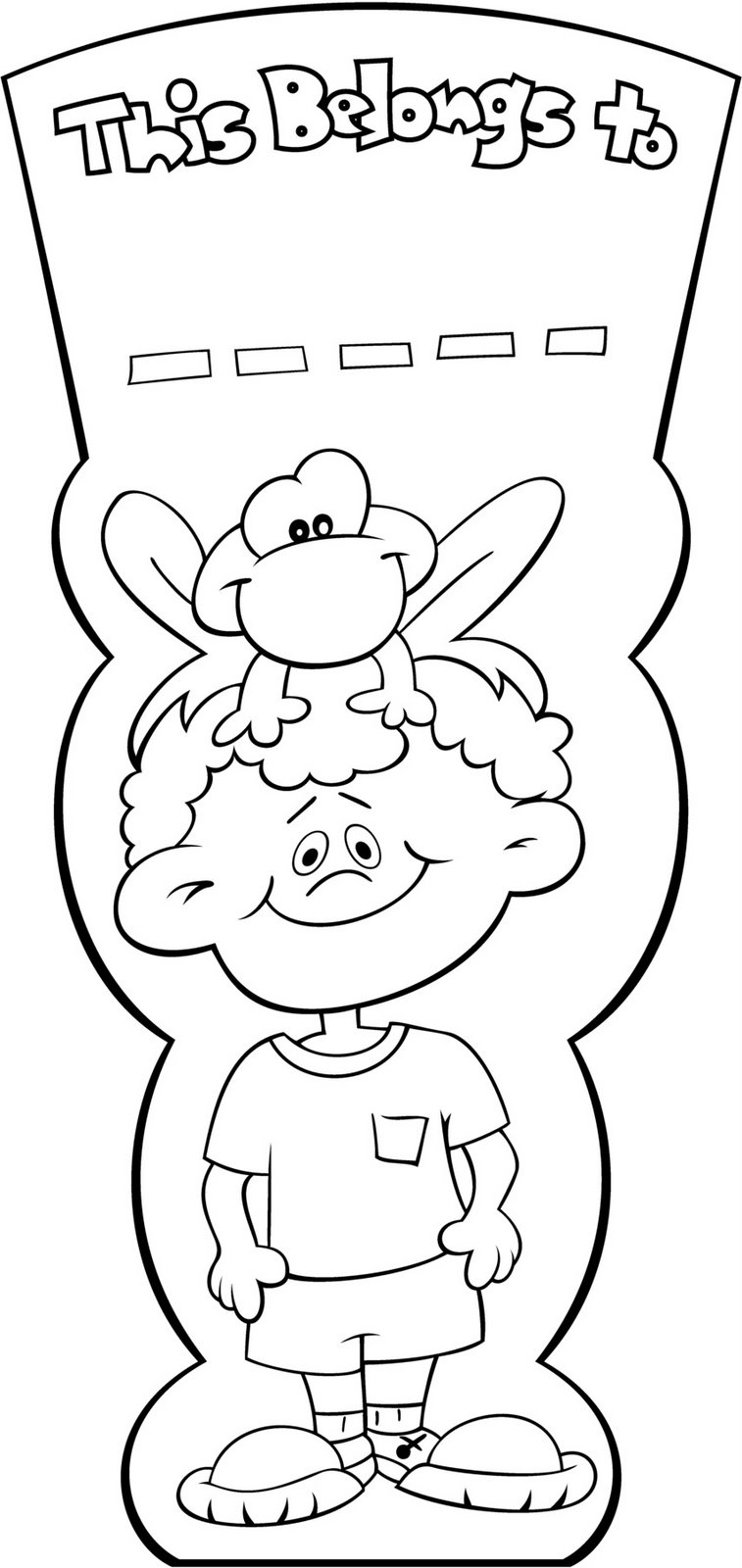 Lujoso Libros Para Colorear Para Niños Pequeños Viñeta - Dibujos ...