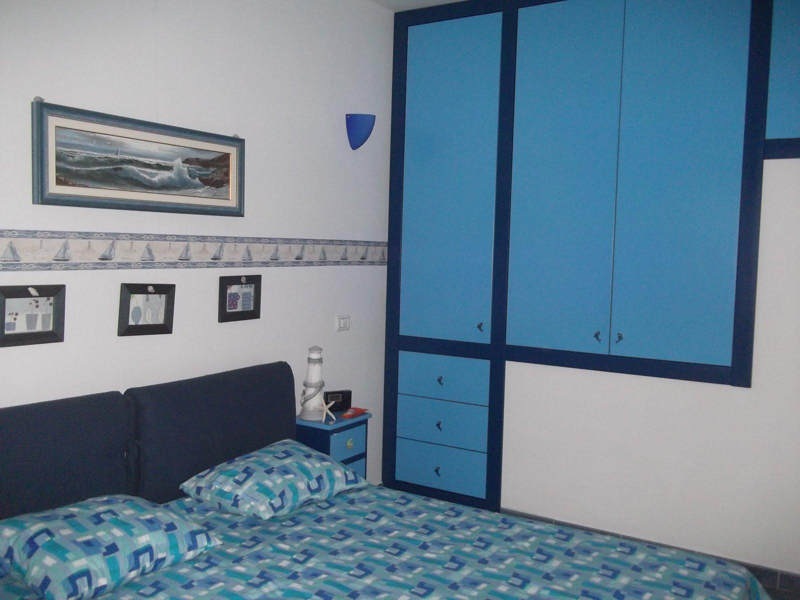 La falegnameria di roberto armadio a muro mare - Camera letto mare ...