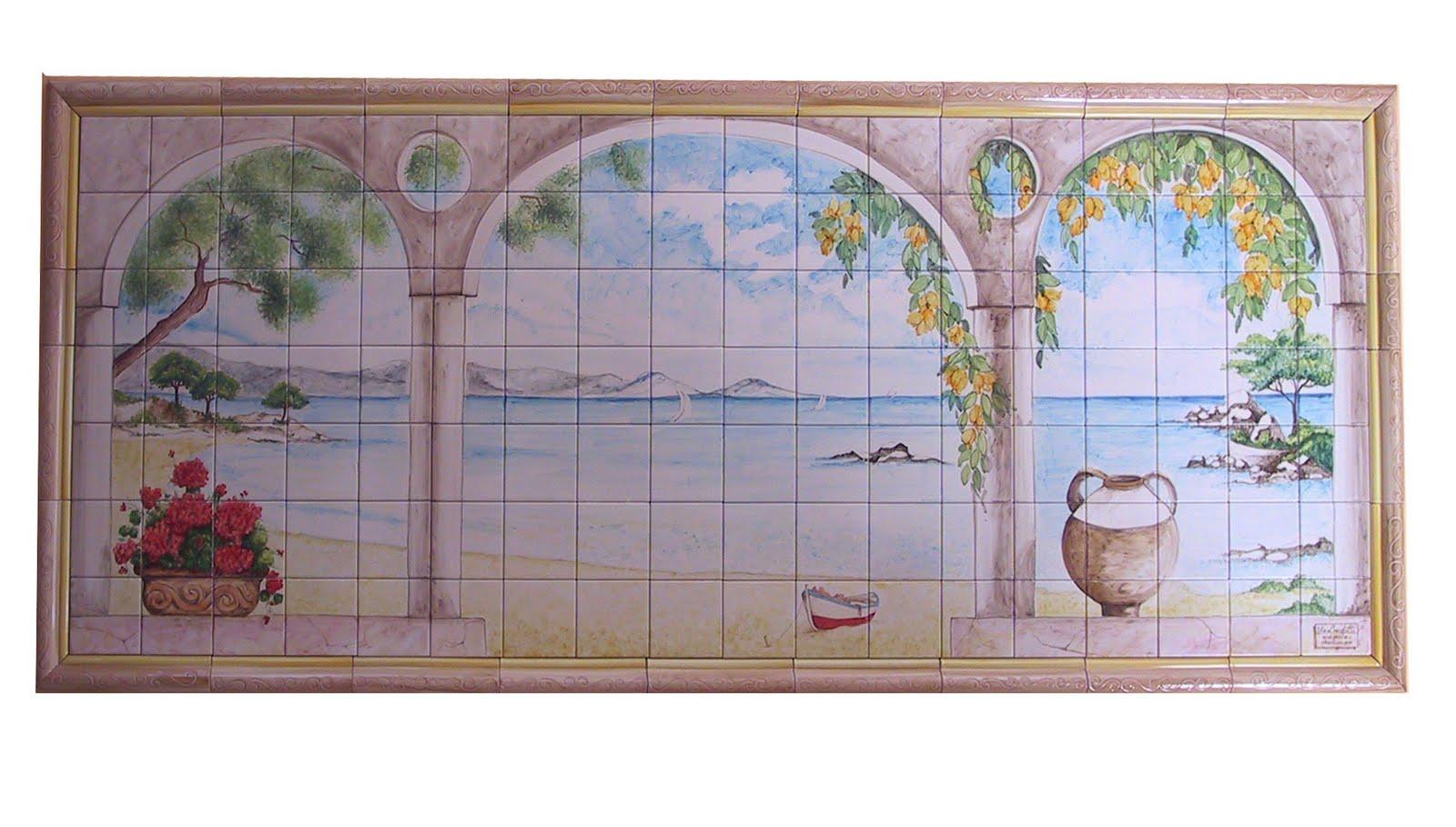 Vico condotti pannelli decorativi in ceramica for Pannelli decorativi da cucina