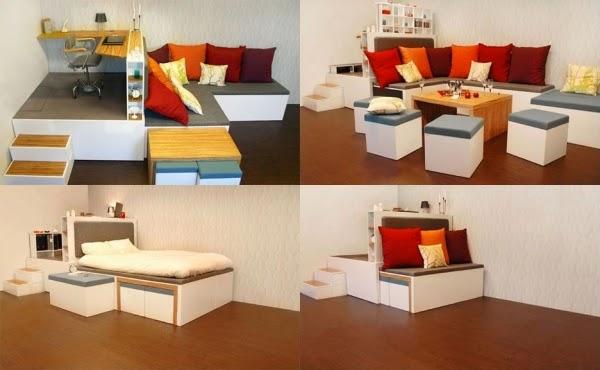 relooking meubles encombrants  18 idées pour les petits espaces