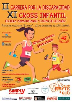 """XI Cross Infantil """"Maratonianos de Leganés"""""""