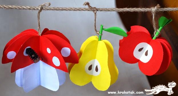 Okulöncesi Sanat Ve Fen Etkinlikleri Okulöncesi Meyve Sanat Etkinliği