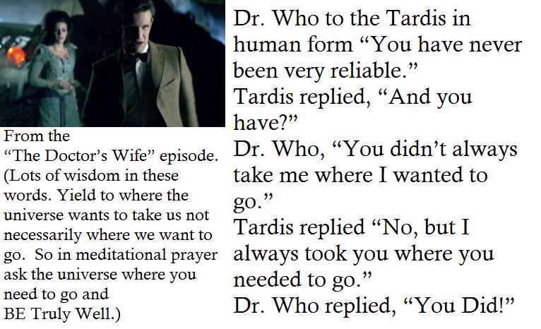 Being Truly Well: The Doctor's Wife - Episode Quote
