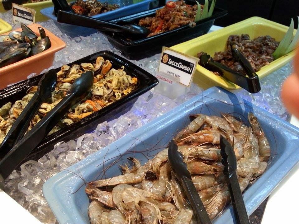 pilihan makanan di SEOUL GARDEN, THE MINES