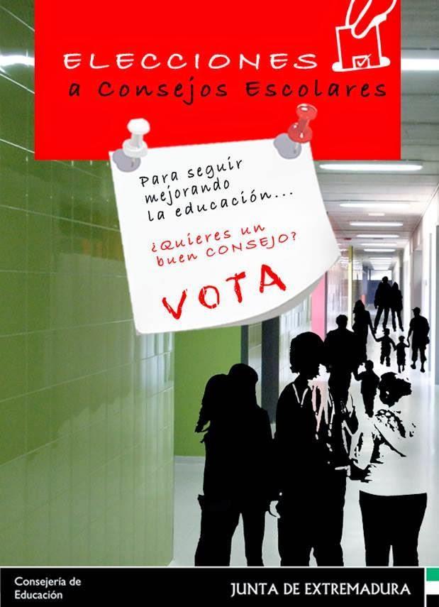 26 DE NOVIEMBRE. ELECCIONES AL CONSEJO ESCOLAR