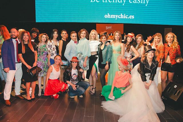 Desfile bloggers runaway Esencia Trendy fashionjob Platea Madrid Asesora De Imagen Personal Shopper event publicidad imagen beauty makeup