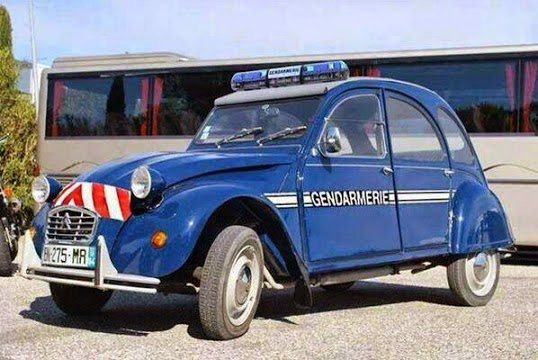 French Police Car