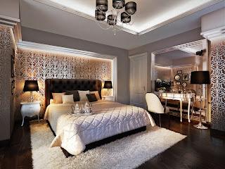 Decoraci n e ideas para mi hogar 9 dormitorios elegantes for Dormitorios elegantes