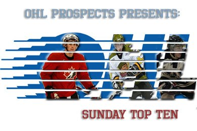 OHL Prospects: Sunday Top 10 - 2015 NHL Draft Re-Entries