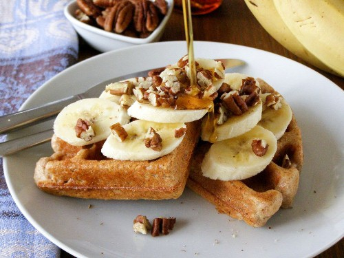 Wholemeal or Wholewheat Vegan Waffles