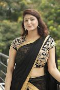 Sagarika glamorous photos in saree-thumbnail-12