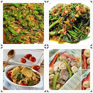 gambar 18 resep aneka tumis sayuran