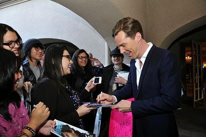 Benedict Cumberbatch at Winter 2014 TCA Press Tour