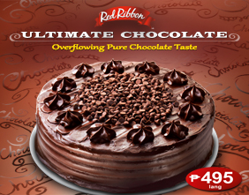 Ultimate Chocolate Cake Red Ribbon