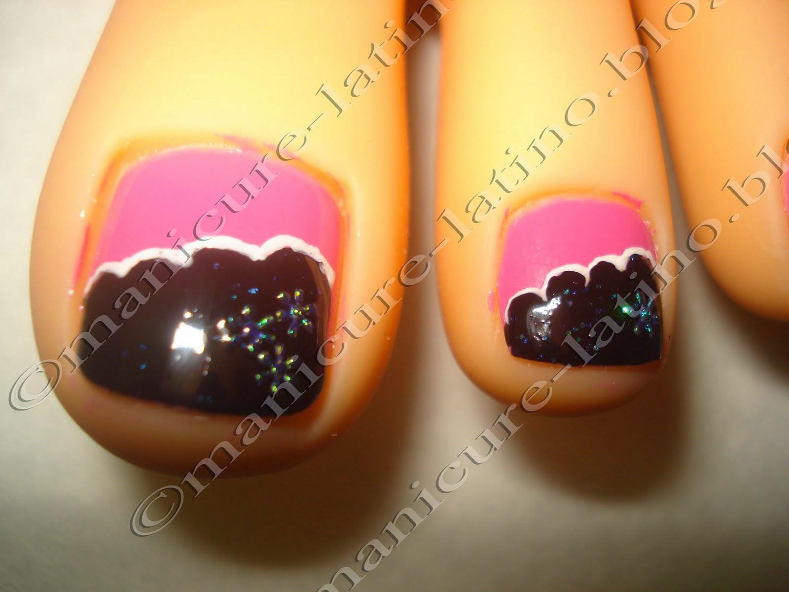 Diseño para uñas de los pies Toe nail design