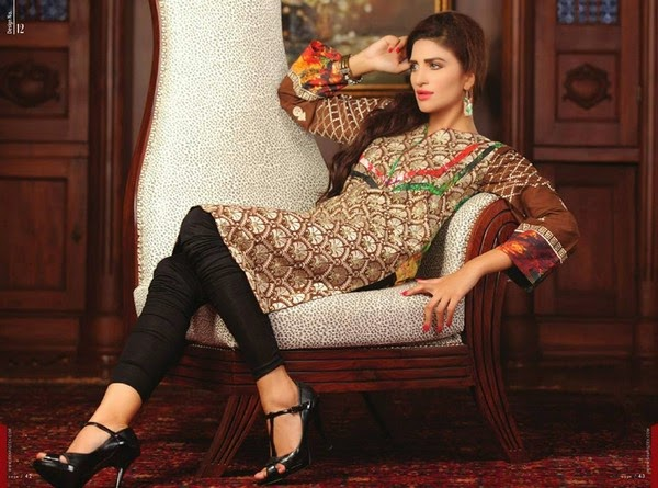 Sahil Kurti Collection 2014 by Shariq Textiles