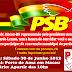 Convenção do PSB em Macau será neste Sábado 30 de Junho