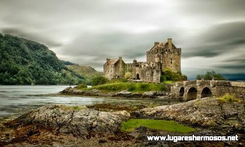 Castillo abandonado de Eilean Donan