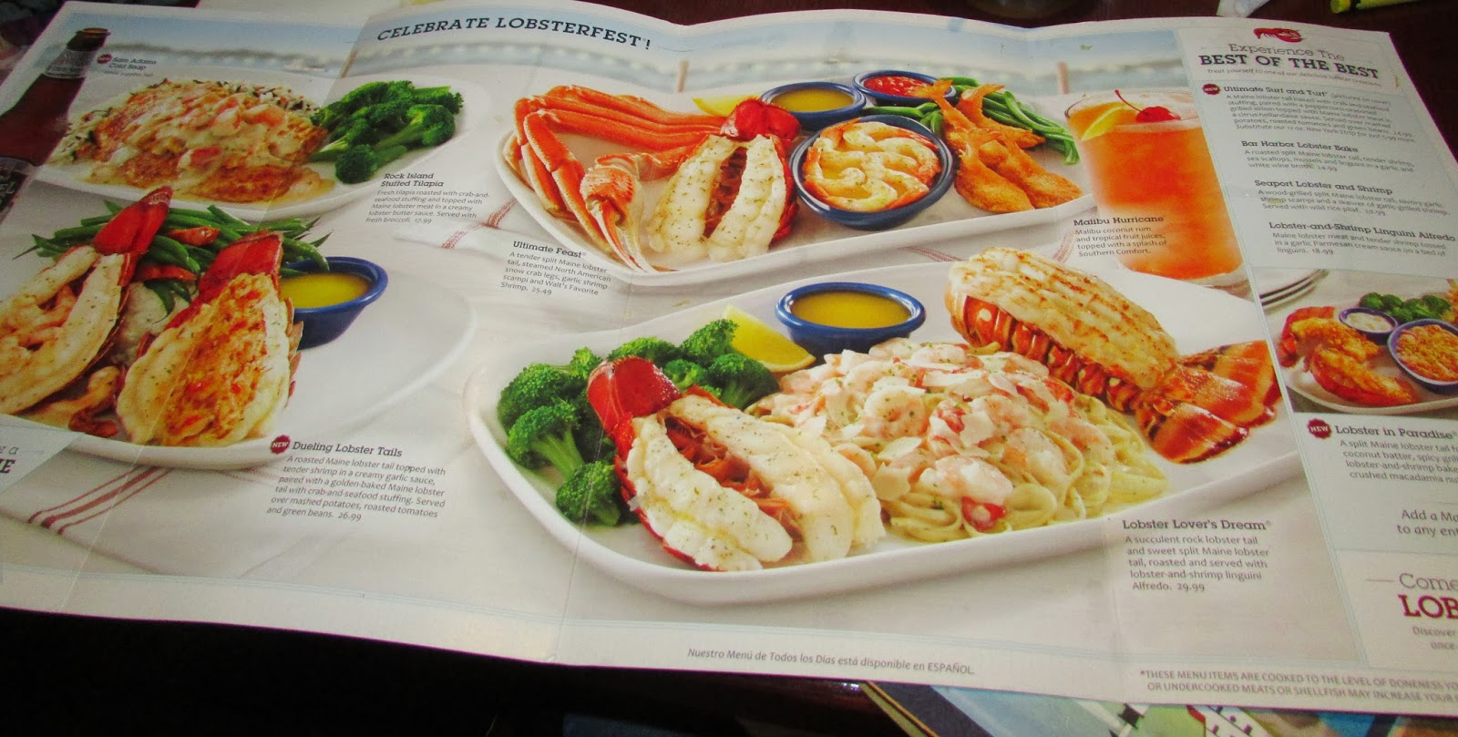 For the Love of Food: Red Lobster Lobsterfest Review and Baked Coconut Shrimp with Pina Colada ...