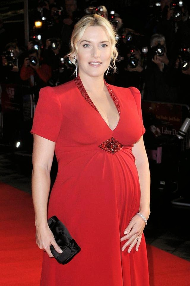 Pregnant Kate Winslet During Pregnancy