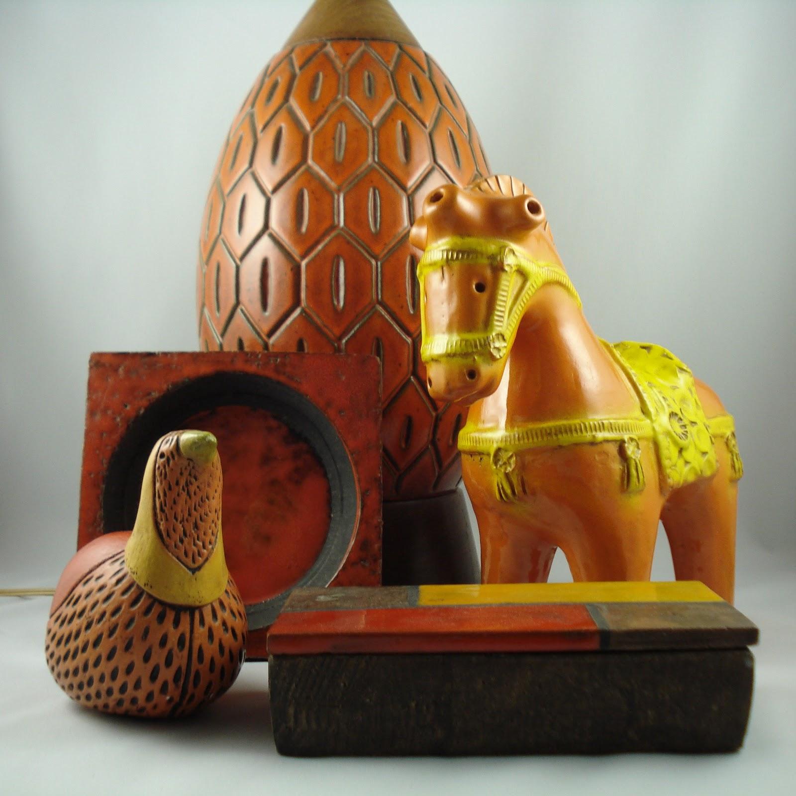 Moderncraze mid century italian ceramics by aldo londi for Bitossi shop on line