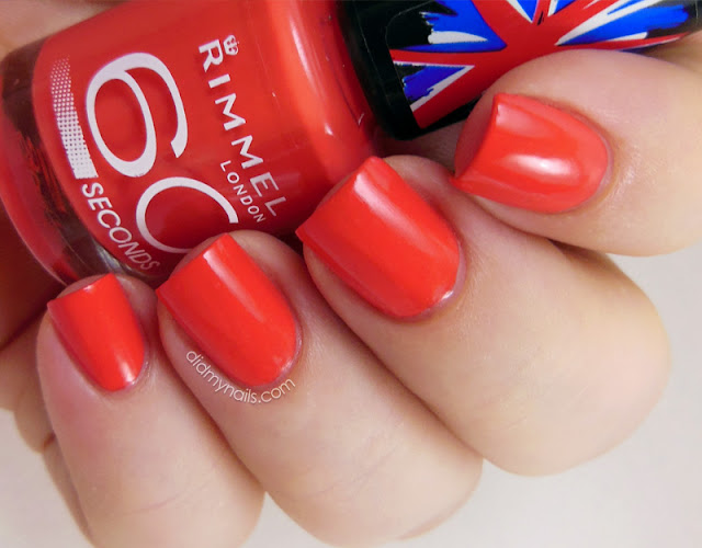 Rimmel Hot Chilli Pepper swatch