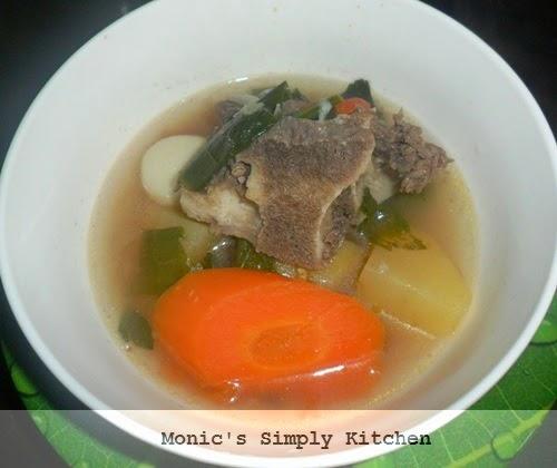 resep sup tulang sapi