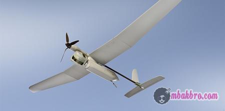 drone hasil printer 3D