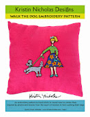 Walk the Dog Embroidery PDF