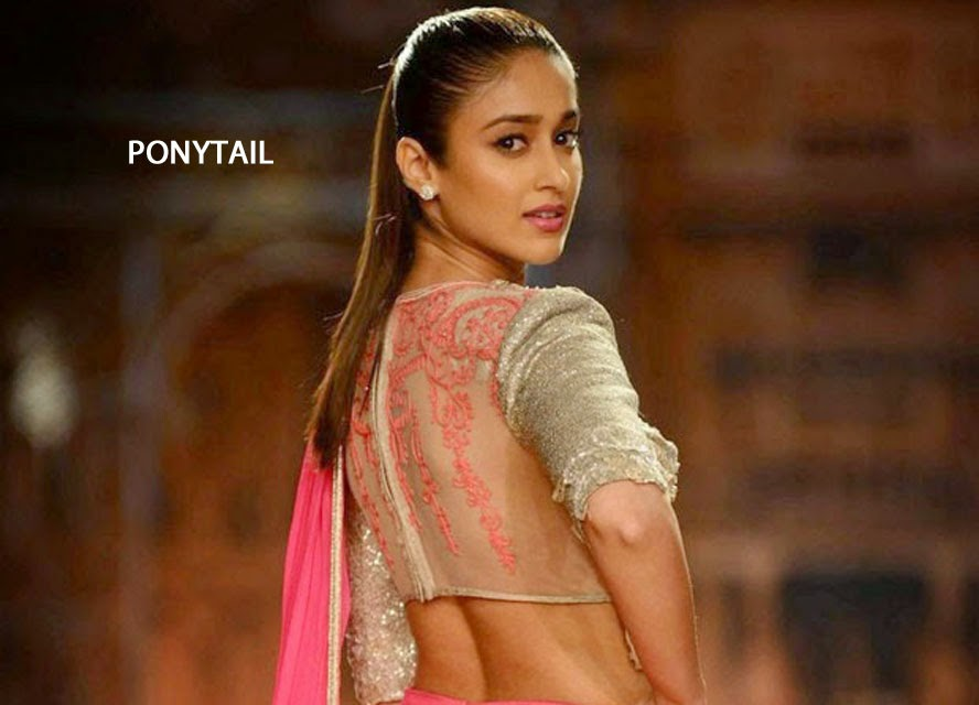 Ileana with Ponytail