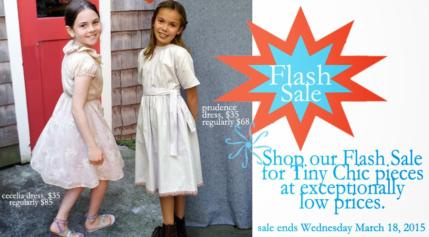 tiny chic boutique sale, flash sale, cecelia dress, prudence dress, spring holiday dresses, flower girl dresses, SFMade,