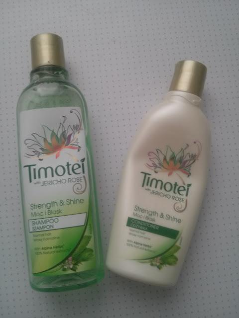 Hity czerwca: Szampon+Odżywka Timotei :*