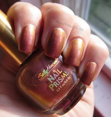 Sally Hansen Nail Prisms Golden Cinnabar Swatch