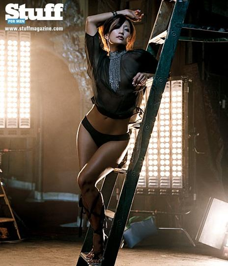 Carrie ann inaba pole for