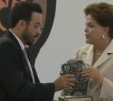 (Atualização em 09/12/11)     Prêmio de Direitos Humanos é entregue pela Presidente Dilma ao FLAMAS