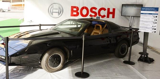 En sevilen otomobillerden biri Kara Şimşek, Kitt