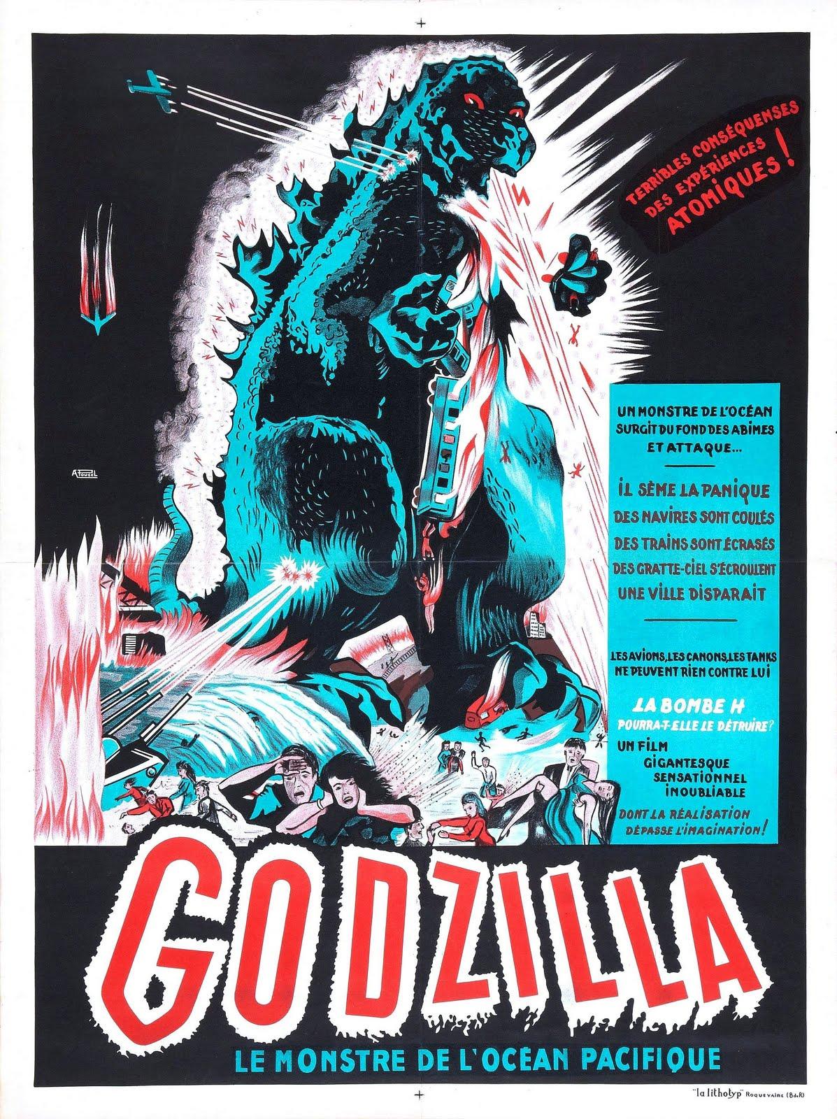 Godzilla King Of The Monsters Poster Rip Jagger'...