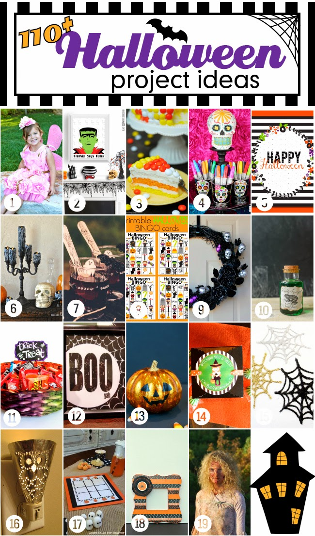 Halloween Bash Blog Hop Monday 19 Projects | www.blackandwhiteobsession.com