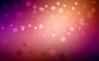 Colorful Bubble Background with Light Effects