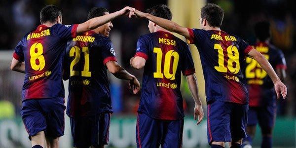 Prediksi Skor Pertandingan Rayo Vallecano vs Barcelona 28 Okt 2012