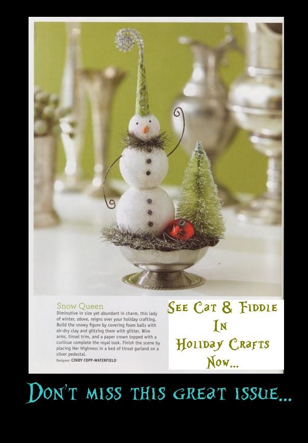 Catandfiddlefolk Better Homes Gardens Holiday Crafts