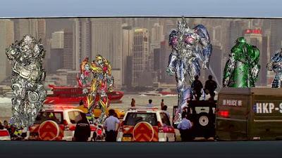 Transformers detrás de las cámaras