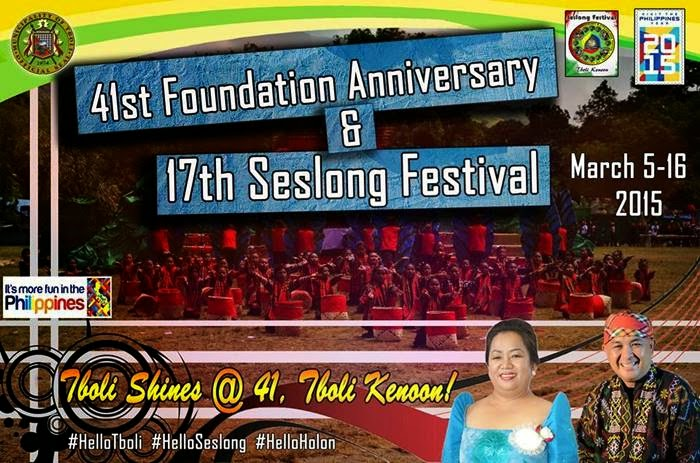 Seslong Festival 2015 Schedule of Activities