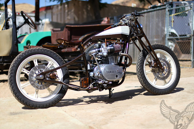 custom xs650 boardtracker/bobber | chappell customs