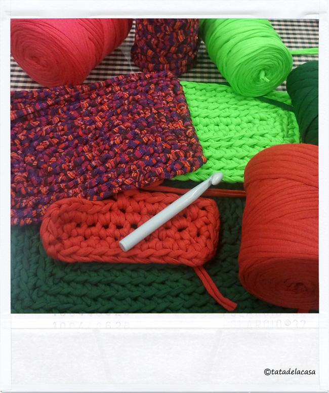 Tatadelacasa alfombras de trapillo - Tutorial alfombra trapillo ...