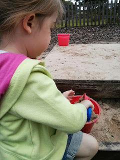 sand in bucket