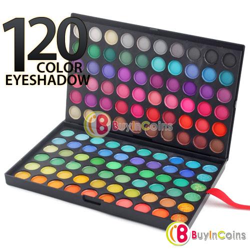 Cheap eyeshadow good quality 120 Color Professional Eye Shadow Palette